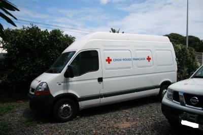 les véhicules de la croix-rouge française N°2