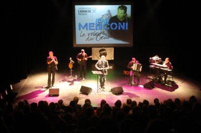 JEAN MENCONI EN CONCERT LE 10 OCT 2010 ISTRES