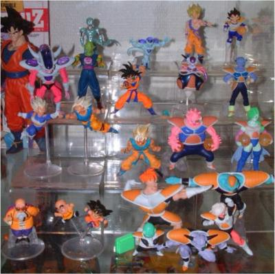 figurine dragon ball z gashapon hg