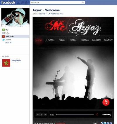 Aryaz Page officiel sur le FaceB