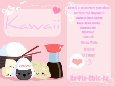 Kawaii かわいい) ♥