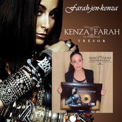 L'album TRESOR est disque d'or !!!
