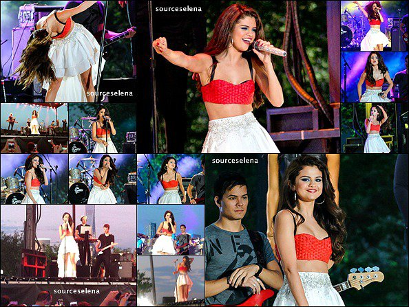 . 29/06/13 : Selena pour sa promo à NEW YORK CITY.Celle-ci a eu un week-end très charger puisqu'elle est d'abord allée à92.3 NOW FMpourrencontrer des fanset puisse produire rapidement sur scène. .