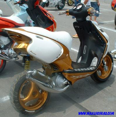 Uitgelezene Beta ark - Scooter Tuning is a not a crime Beta ARK EP-85