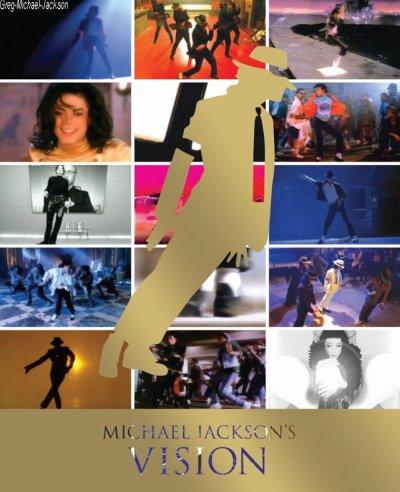 """""""Michael Jackson's Vision"""", le coffret DVD disponible partout le 22 novembre"""