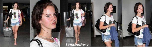 -2, Septembre :Photos, Lana à l'aéroport de LAX à Los Angeles/ Photos, Lana Del Rey en Une de magazine Vogue Australie.