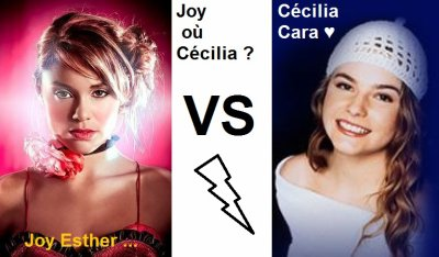 Cécélia Cara VS Joy Esther !