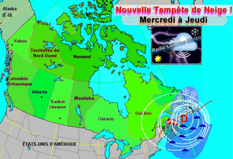 Bombe Dépressionnaire sur l'Est du Québec !