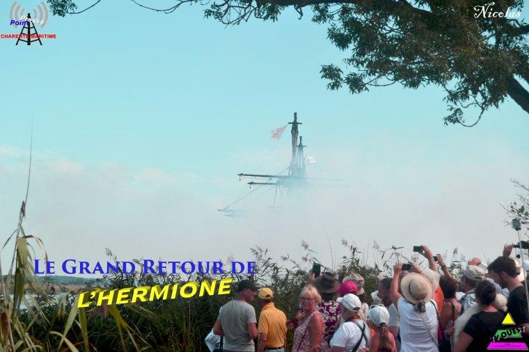 L'Hermione de Retour à Rochefort (17)