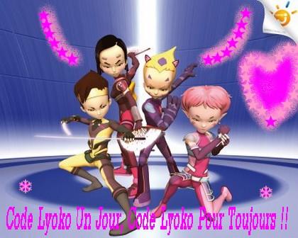 Code Lyoko pour toujours ღღღ