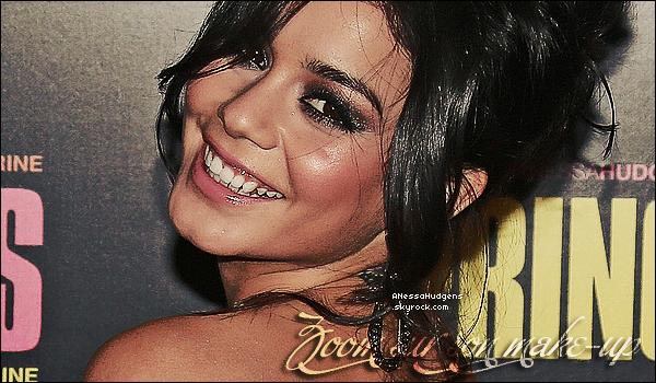 """. 18.02.13.FLASHBACK. Vanessa était à l'avant-première du film """"Spring Breakers"""" à Parisavec ses co-stars Selena Gomez, Ashley Benson et Rachel Korine. ."""