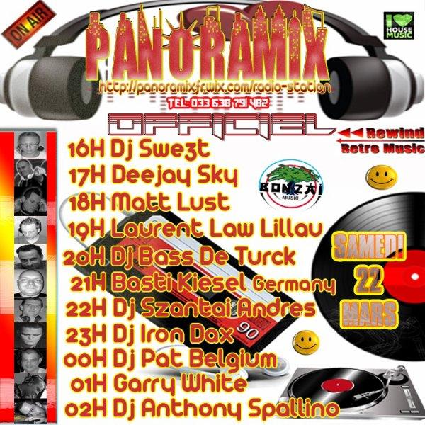 OUVERTURE DE LA 2 EME RADIO DU GROUPE PANORAMIX OFFICIEL L INTERNATIONAL  DJ S SHOW 14h A 06H du mat