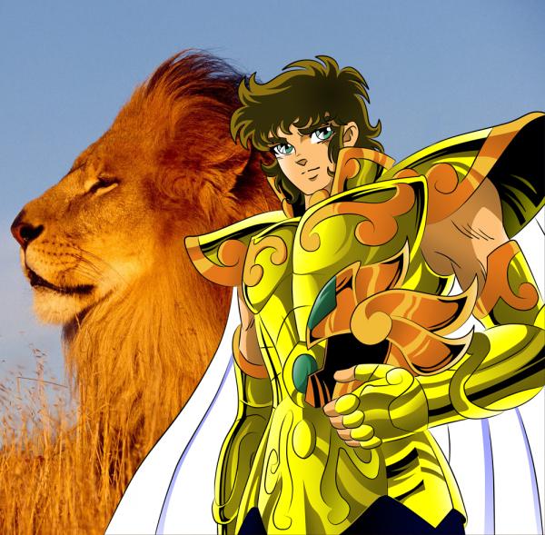 Les lions de différant horizons
