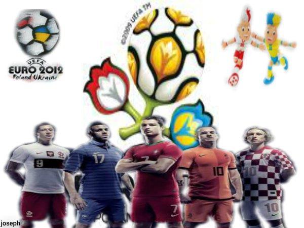 Euro 2012 - Le calendrier