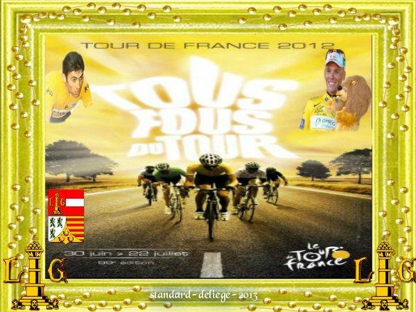 La Province de Liège lance le Tour 2012