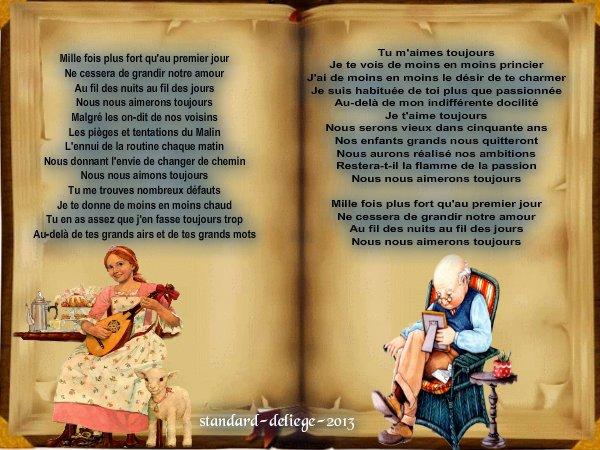 Poème d'Amour  Nous Nous Aimerons Toujours
