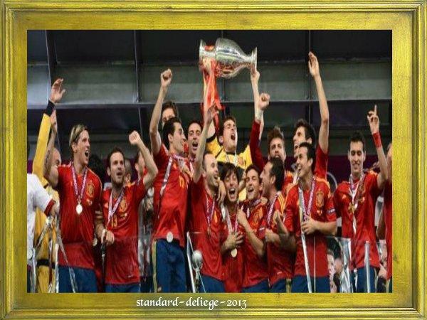 Euro 2012 : l'Espagne entre dans la légende