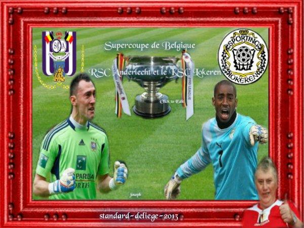 Supercoupe de Belgique: Anderlecht accueillera Lokeren le 22 juillet