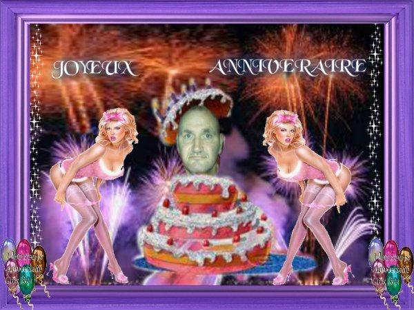 Heureux anniversaire Raymond ou robocop66