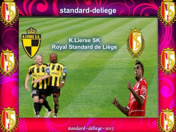 n° 2 K.Lierse SK Royal Standard de Liège JUPILER PRO LEAGUE VENDREDI 3 AOÛT 2012