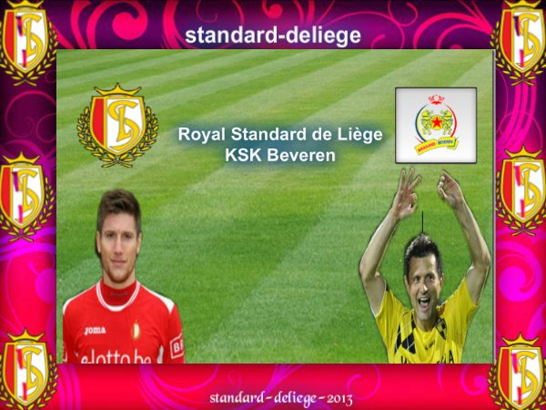 n°3 Royal Standard de Liège KSK Beveren JUPILER PRO LEAGUE VENDREDI 10 AOÛT 2012