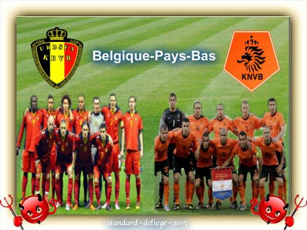 Football. Belgique - Pays-Bas  Le mercredi 15 août 2012, à 20h45, au Stade Roi Baudouin.
