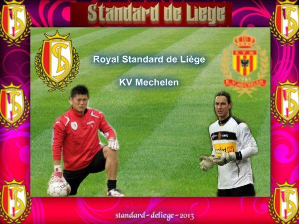 Jupiler Pro League Journée 5 Royal Standard de Liège KV Mechelen DIMANCHE 26 AOÛT 2012
