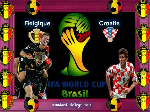 Belgique- Croatie 11 sep. 2012