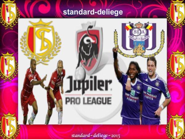 Royal Standard de Liège R.S.C. Anderlecht JUPILER PRO LEAGUE DIMANCHE 7 OCTOBRE 2012