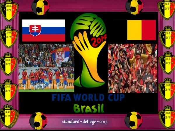 Serbie-Belgique, c'est ce vendredi soir