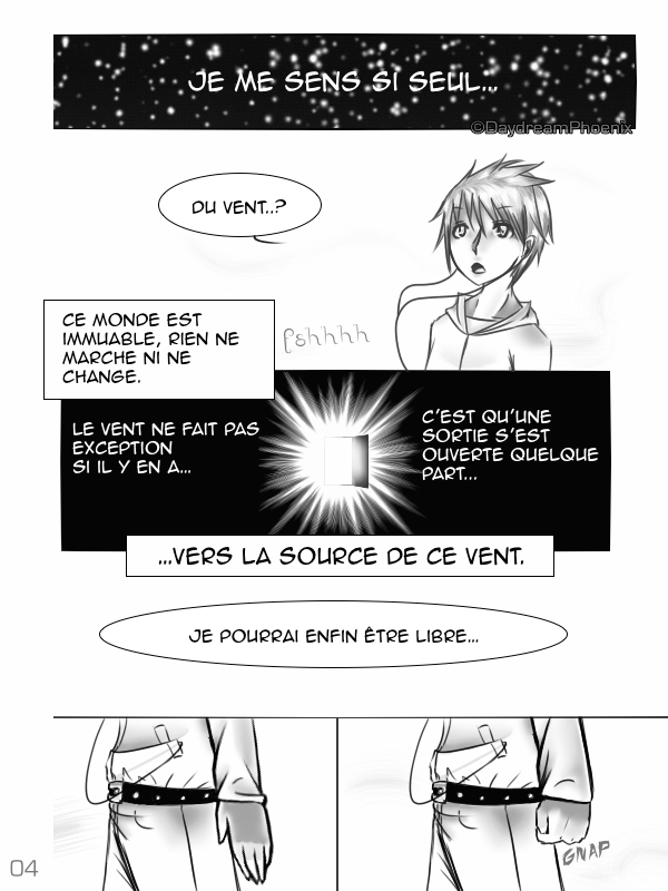 Solitude Parallèle | Pages 01 - 05