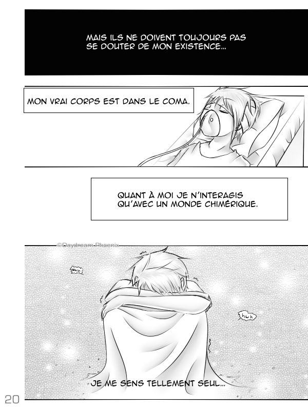Solitude Parallèle | Pages 16 - 20