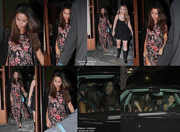 15/03/14 : Selena a été vu quittant le restaurant Kabuki et retournant à sa voiture à North Hollywood