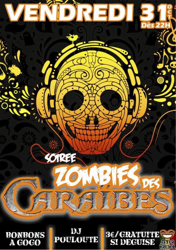 Soirée zombies des caraibes