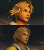 final fantasy x comparaison sd/hd