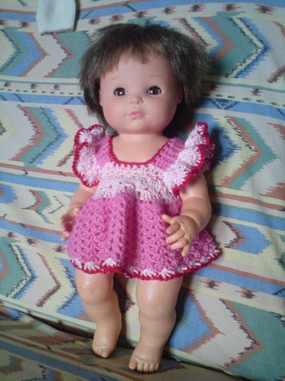 Robes au crochet pour poupées