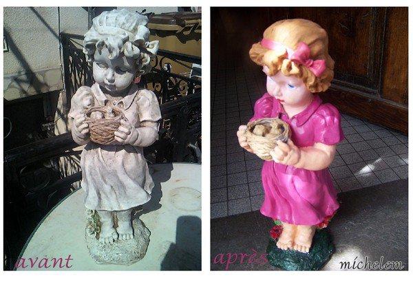 poupée plâtre