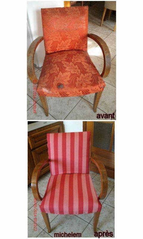 fauteuil renové