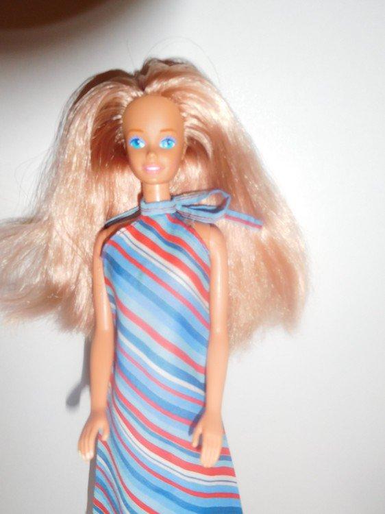 réimplantation d'une barbie