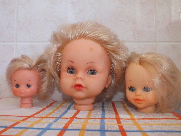 poupées trouvées dans un grenier