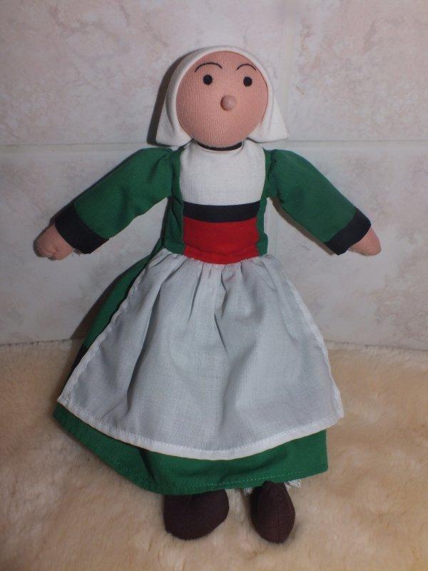 Ma poupée Bécassine