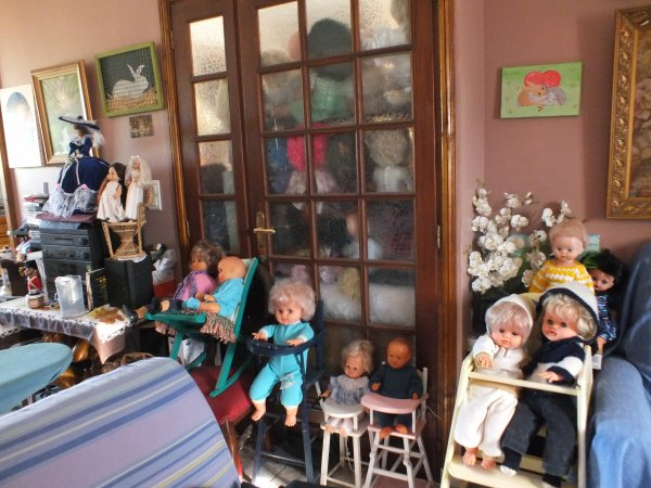mes coins poupées dans la maison