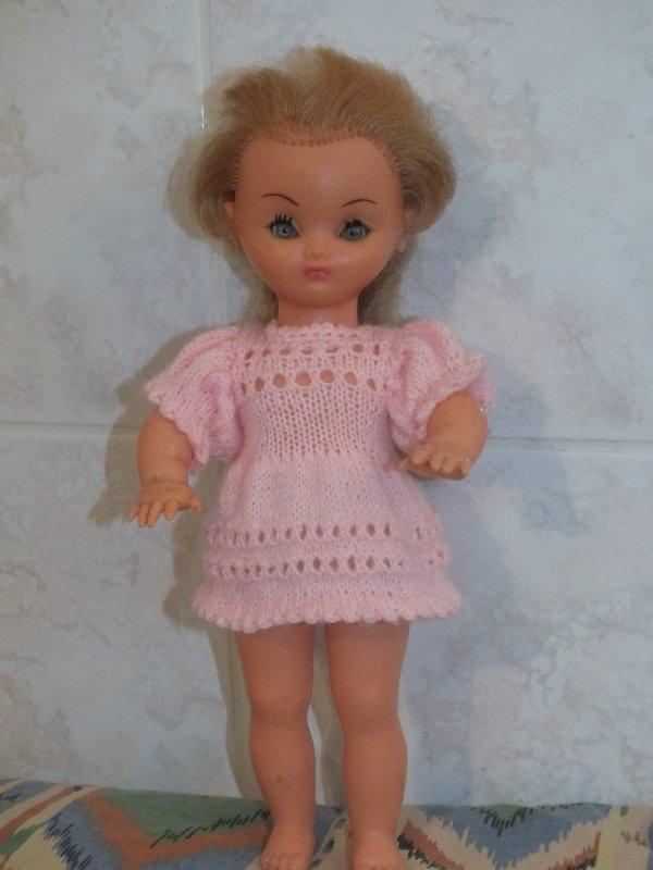 petite robe pour poupée Bella