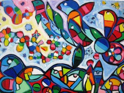 Peinture moderne le peintre de tahiti for Art moderne peinture