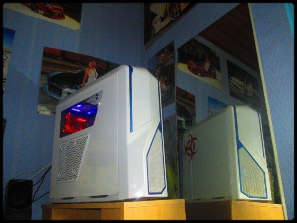 my phantom 410 ^^ parce qu'un bon PC c'est tellement mieux !