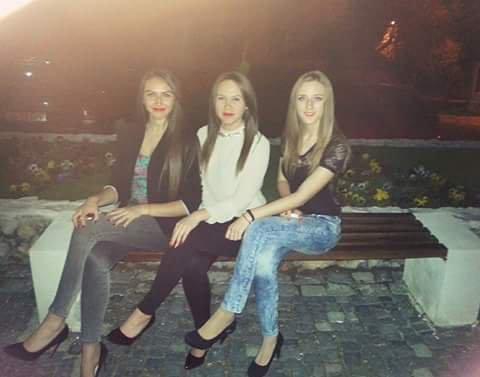 Avec les copine :)