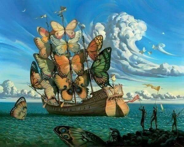 un ami!!!!!!!!!!!!!!!!!!le retour des papillons: