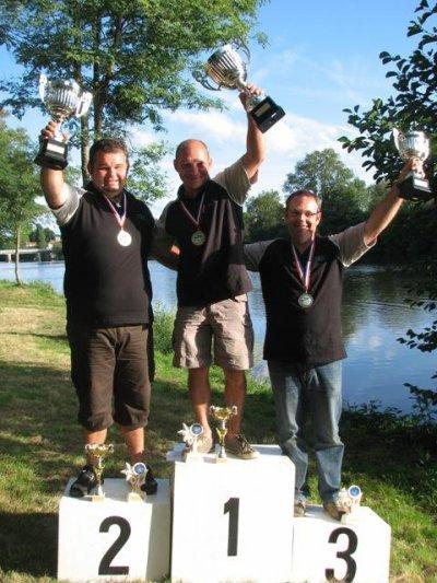 Olivier DEFROCOURT  2eme au Championnat de france Moulinet 2011. un Podium 100% RIVE