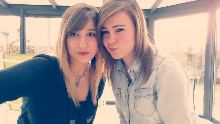 MOi and petite cOuz'. ♥