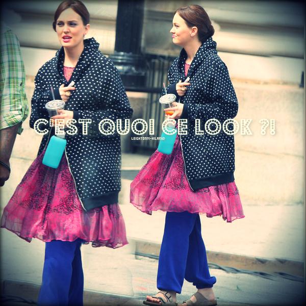15. Le 31 Juillet : Leighton Meester sur le tournage de la dernière saison de Gossip Girl. - Le O1 Août : Hilary et Luca se rendant à un cours pour jeune maman dans Burbank.